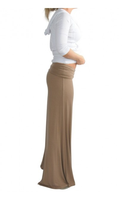Superwide Comfy Palazzo Pants in Tan