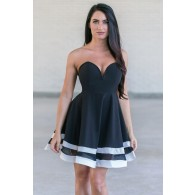 Twist and Shout Sailor Swing Dress