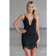 Black Lace Cocktail Dress, Little Black Dress