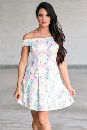 All Your Easter Eggs In One Basket Printed Dress