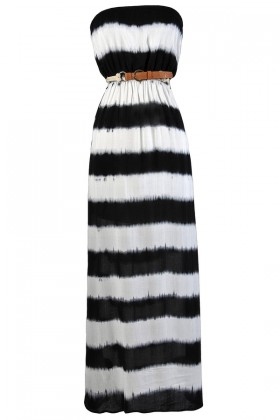 Cute Tie Dye Dress, Tie Dye Maxi Dress, Black and White Maxi Dress, Black and Ivory Tie Dye Dress, Cute Summer Dress, Black and White Maxi Dress