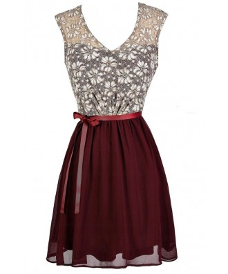 Burgundy Lace Dress, Maroon Lace Dress, Red Lace Dress, Cute Holiday Dress, Cute Christmas Dress, Red Lace Sundress, Red Lace Party Dress, Cute Bridesmaid Dress, Burgundy Lace Bridesmaid Dress, Burgundy Bridesmaid Dress